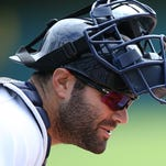 Alex Avila of the Detroit Tigers.
