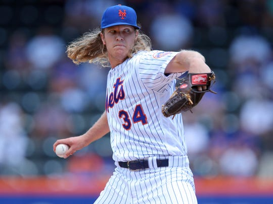 Second-year Mets starting pitcher Noah Syndergaard has worked with Sarah-Christian Carlson, a local certified nutrition specialist, since early 2014.