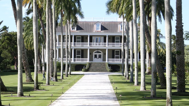 The home at 2500 Gordon Drive in Naples sold for $45.6 million last month.