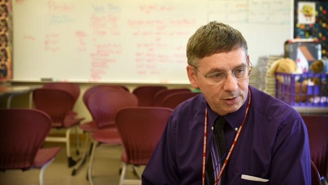 Annville-Cleona Secondary School mathematics/computer science teacher Raymond Kreiser has won Excellence in Education Award from the Lebanon Valley Chamber of Commerce in each of his years teaching in Annville.