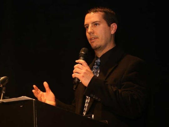 Eric Petersen was named the Downtown Chamber's 2014 ambassador of the year. The Des Moines Downtown Chamber handed out awards at its fifth annual celebration March 3 at Des Moines Social Club.