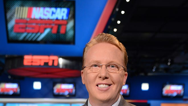 ESPN analyst Ricky Craven is part of the broadcast team for Saturday night's U.S. Cellular 250 at Iowa Speedway.