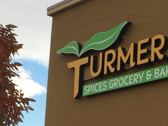 Turmeric grocery and bakery