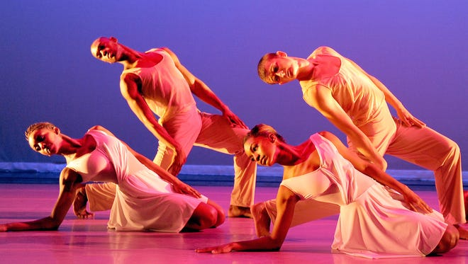 "Ailey II performs Amy Hall Garner's ""Virtues"" on March 30."