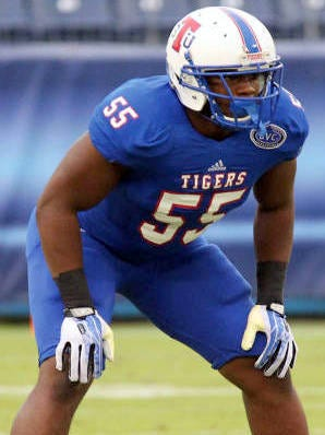 TSU defensive end Anthony Bass made the All-OVC First Team Defense.