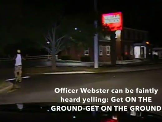 Video shows Del  officer kicking black suspect