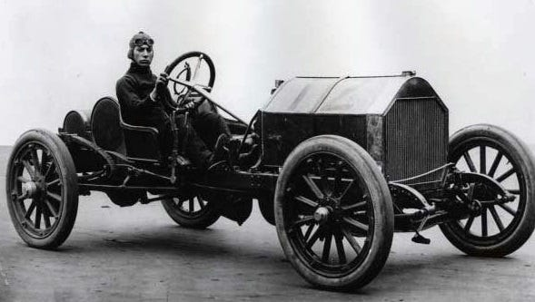 """Harry Knight became the """"hero of Indianapolis"""" after his quick thinking spared the life of a mechanic sprawled helpless in the home stretch of the very first Indianapolis 500."""