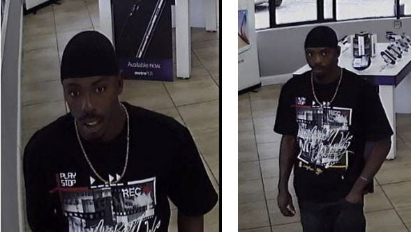 Pensacola Police are asking for help in identifying a man who allegedly struck a woman in the throat.