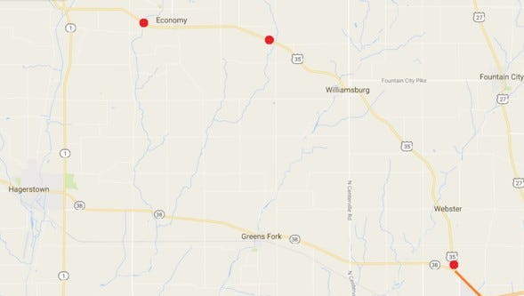 The Indiana Department of Transportation on Thursday announced a series of projects coming this year to U.S. 35 in Wayne County.