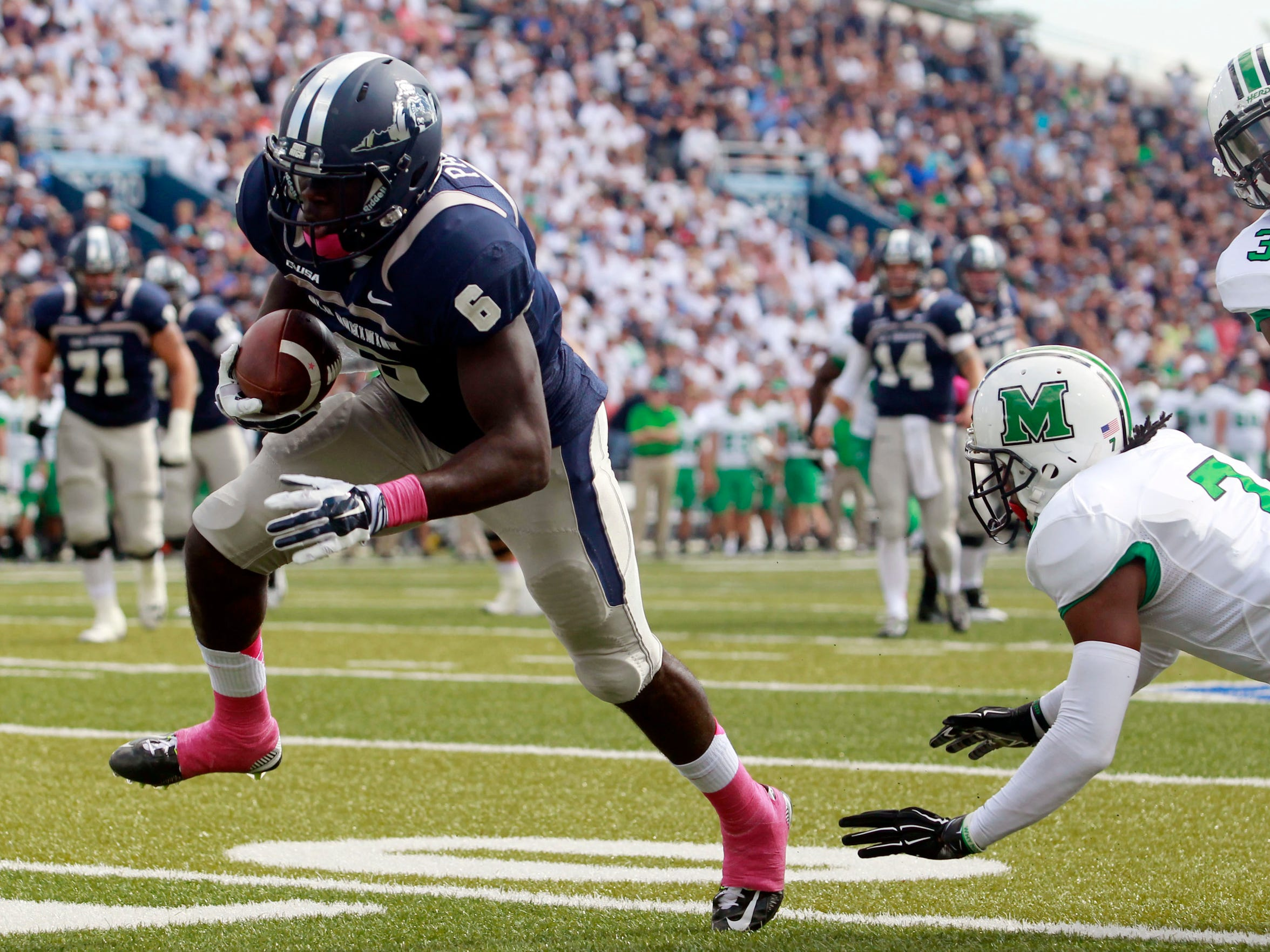 Old Dominion wide receiver Zach Pascal (6)