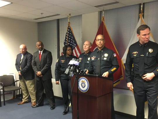Memphis Police Director Michael Rallings addresses