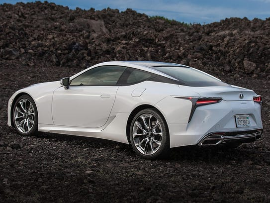 The 2018 Lexus LC 500