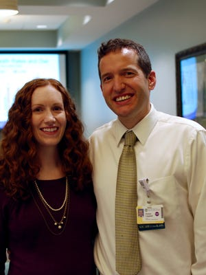 Doctors Erin and Tom Campbell. Tom Campbell's nutrition program is helping people stem the progression of diabetes.
