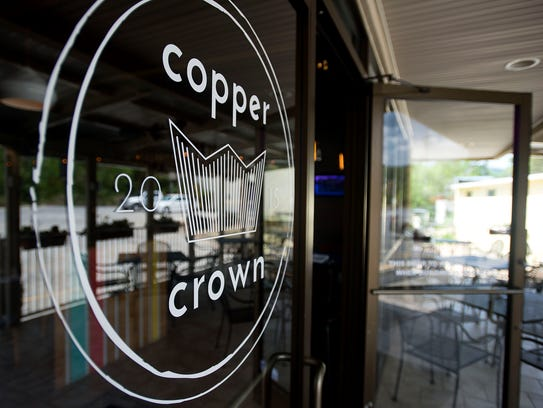 Copper Crown, located on Tunnel Road in East Asheville,
