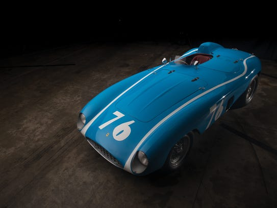 This 1955 Ferrari 121 LM Spider, with coachwork by