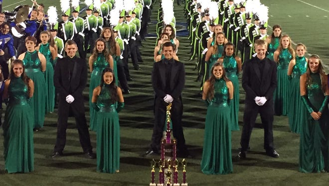 West Salem High School Marching Band continued its win streak at the Pride of the Northwest marching band competition in Grants Pass on Saturday.