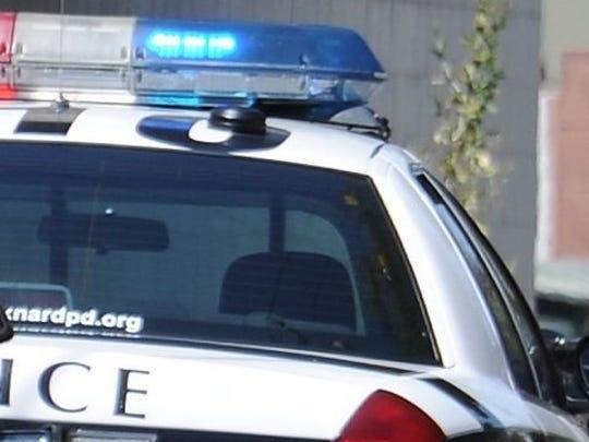 Oxnard police car