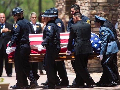 Officer Jair Cabrera funeral