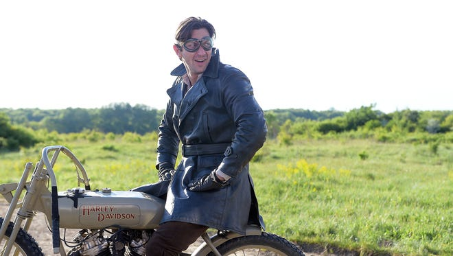 Michiel Huisman plays Walter Davidson in the 'Harley and the Davidsons,' a three-part miniseries on Discovery Channel.