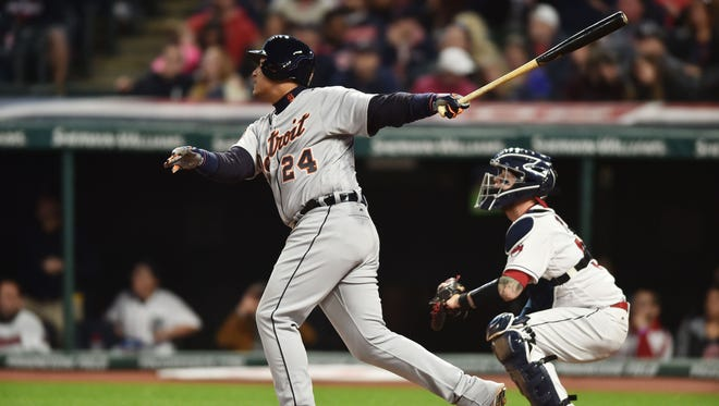 Tigers first baseman Miguel Cabrera is dealing with some back tightness to start the season, but he finished Week 2 with at least a hit and an RBI in his last four games.