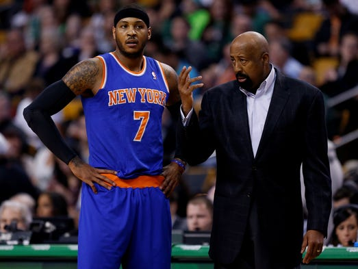 It's over. The Knicks' 2013-14 wreck has stopped, with Mike Woodson fired and Carmelo Anthony's future still up in the air. Here's a look back at the 37-45 season's low points.