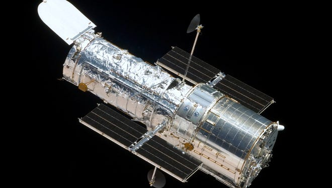 """Hubble Vision"" will be offered at 2 p.m.  Sundays April 3, 10, 17 and 24 and May 1 and 8."