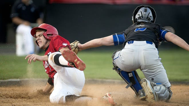 Pisgah's Jason Fabio, left, is a member of the All-Western North Carolina Athletic Conference baseball team.
