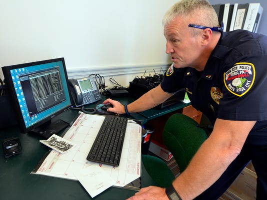 PHOTOS: New body cameras for YCP