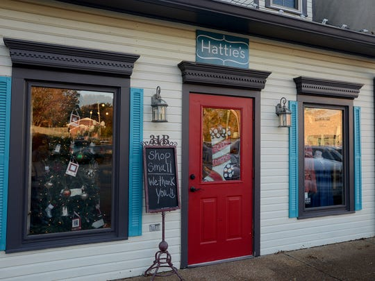 Hattie's, a locally owned boutique located on North Highland Ave., parti.cipated in Small Business Saturday.