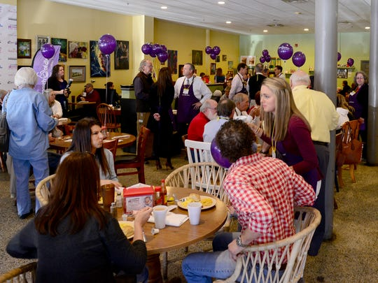 Breakfast for Babies was held at The Baker's Rack, Friday morning. The event helps raise money for March of Dimes.