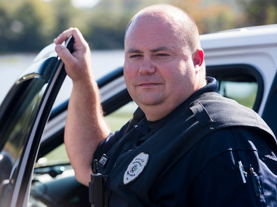 Prattville police officer Donnie Martin is shown in