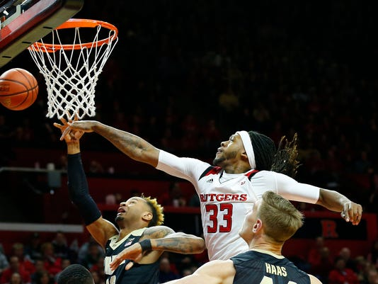 NCAA Basketball: Purdue at Rutgers
