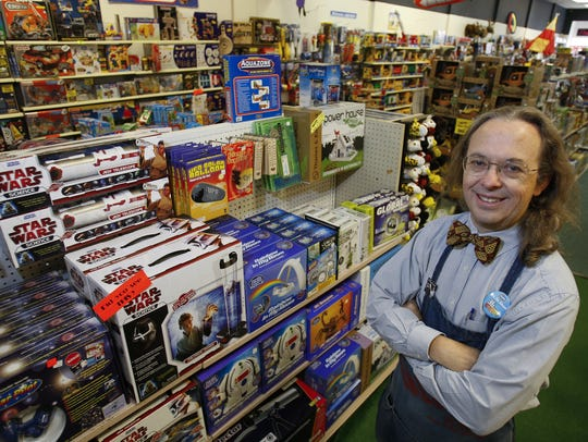Dave Campbell, the owner of Amazing Toys, retires this