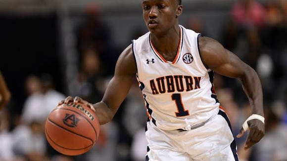 Auburn point guard Jared Harper had 19 points in a 83-65 win over Georgia State on Nov. 14, 2016.