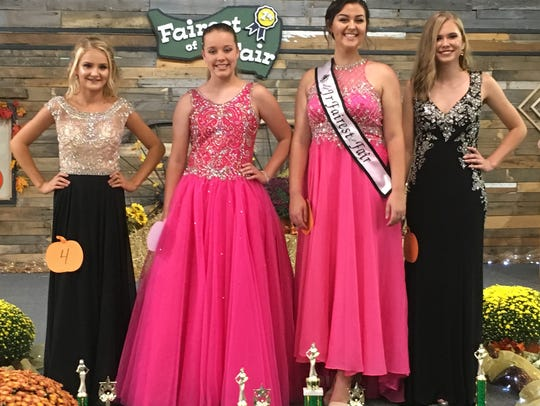 The 2018 Junior Miss Fairest of the Fair was Paxton