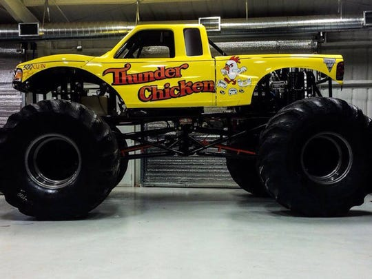 Thunder Chicken will be in Montgomery on Saturday for the Montgomery Monster Truck Nationals.