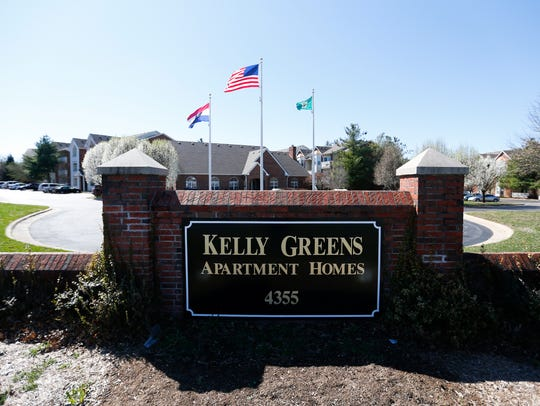 The Kelly Greens apartments on Thursday, March 2, 2017.