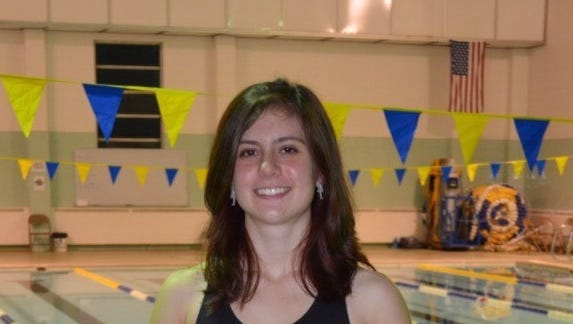 North Buncombe senior Sarah Shapiro has committed to swim in college for Mars Hill.