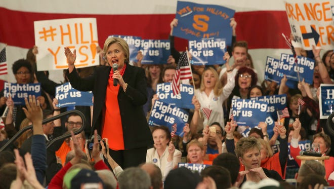 Hillary Clinton talks issues including student loans, health care and job creation.