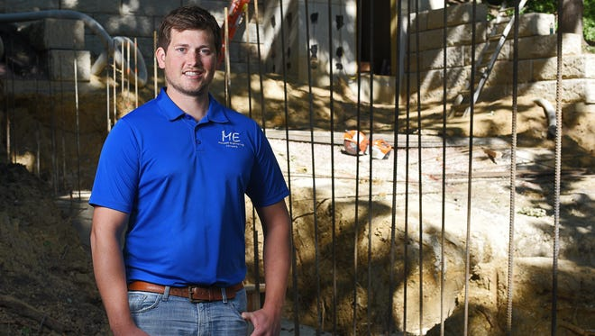 Robbie Veurink, a structural engineer with Midwest Engineering Company.