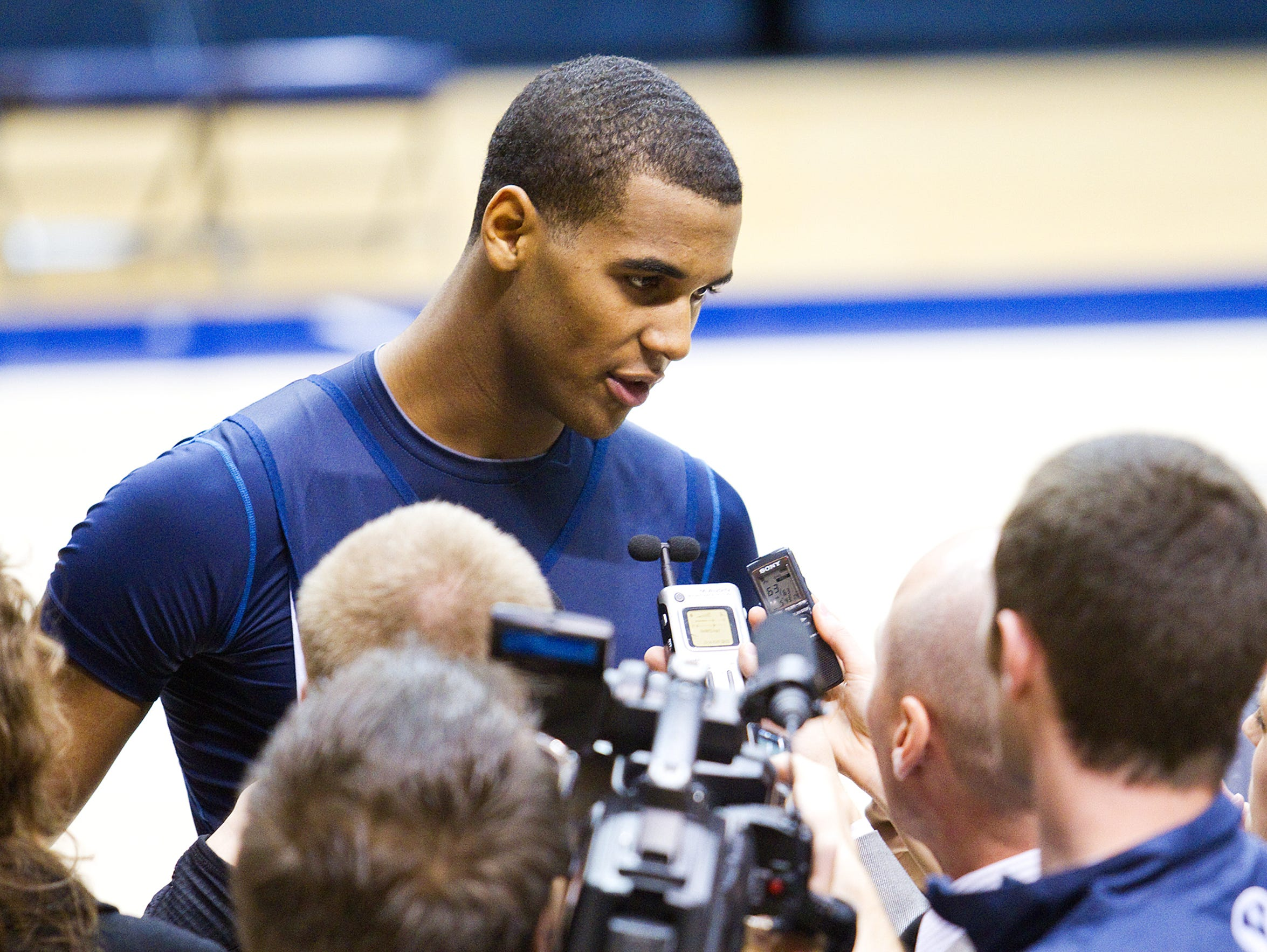 Former BYU hoops player Brandon Davies was suspended