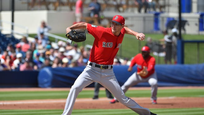 Chris Sale joins the Red Sox rotation.