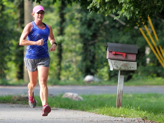 The Gateway to the 5K Beginner Training Program has helped Charla Greene adapt to trail running after moving to Black Mountain from Massachusetts.
