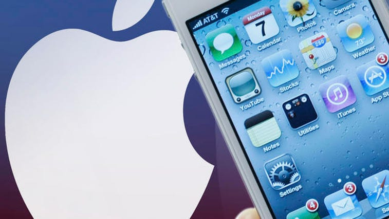 Close up views of the new Apple iPhone 4 are shown
