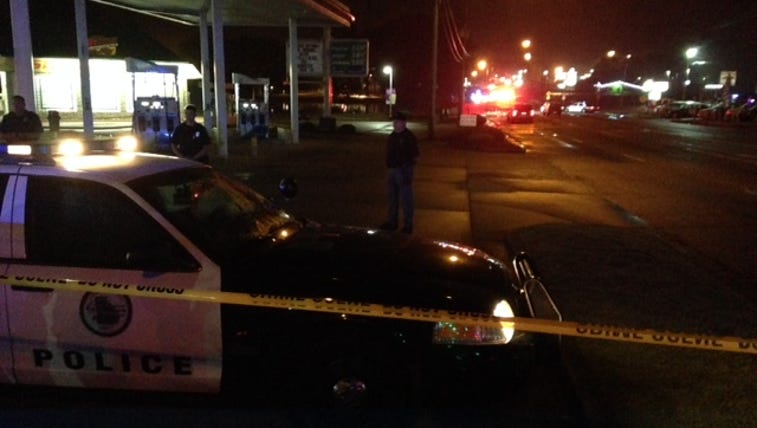 Police investigate after a fatal officer-involved shooting