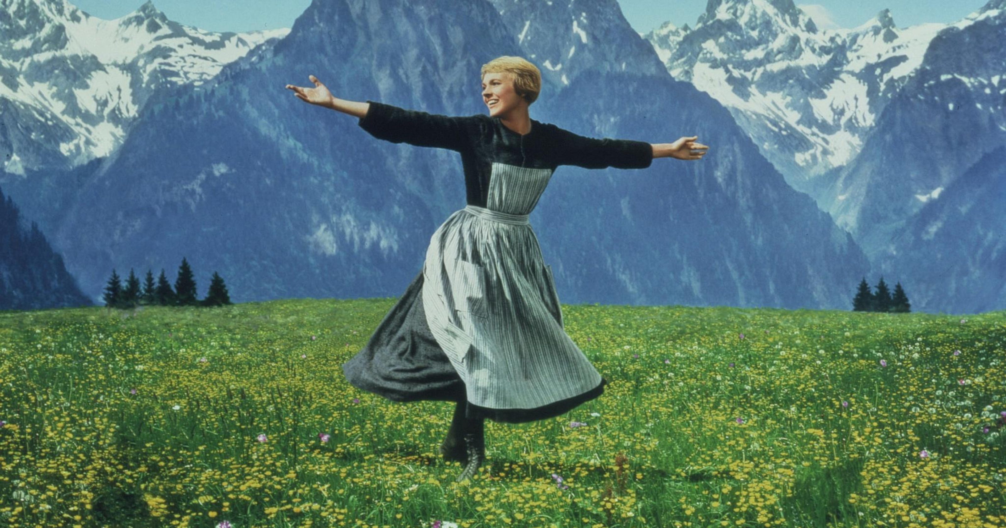 The hills are alive with the sound of mucus, er, music