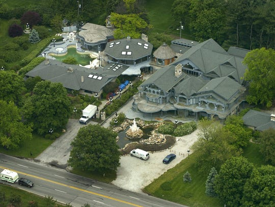 "The Hostetler House, aka the ""Dolphin Mansion,"" is"