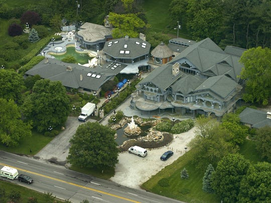 """The Hostetler House, aka the """"Dolphin Mansion,"""" is actually several homes cobbled together at 4915 Kessler Blvd E. Drive."""