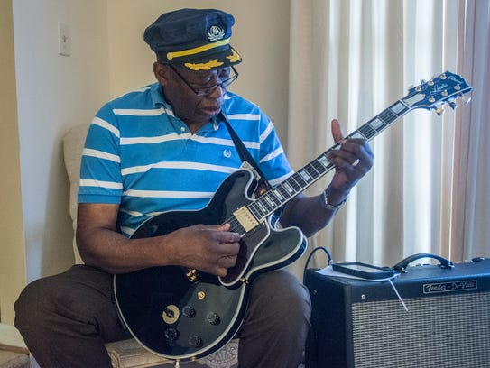 """Stanford """"Guitar Slim"""" Barnes, who is being inducted"""
