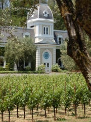 The Spring Mountain Vineyard in St. Helena, Calif.